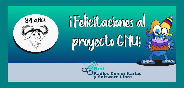1983-2017: 34 años del Proyecto GNU