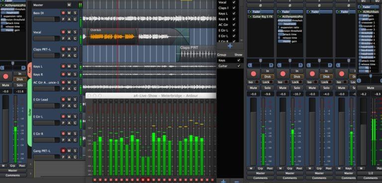 ¿Conoces el editor de audio Ardour?