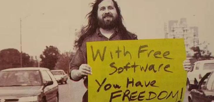 Richard Stallman en Barcelona