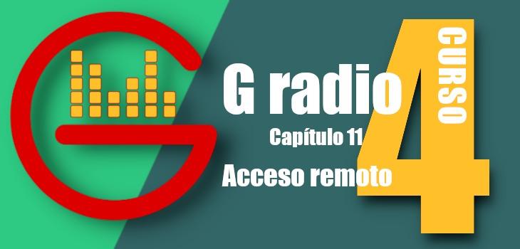 Acceso remoto G radio