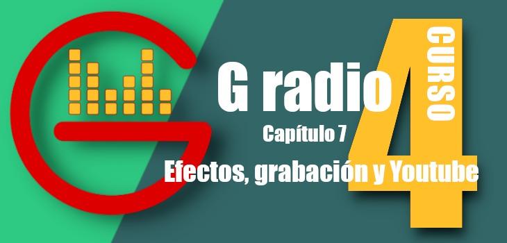 efectos g radio