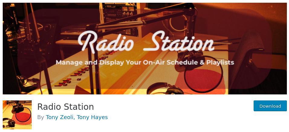 programación de la radio