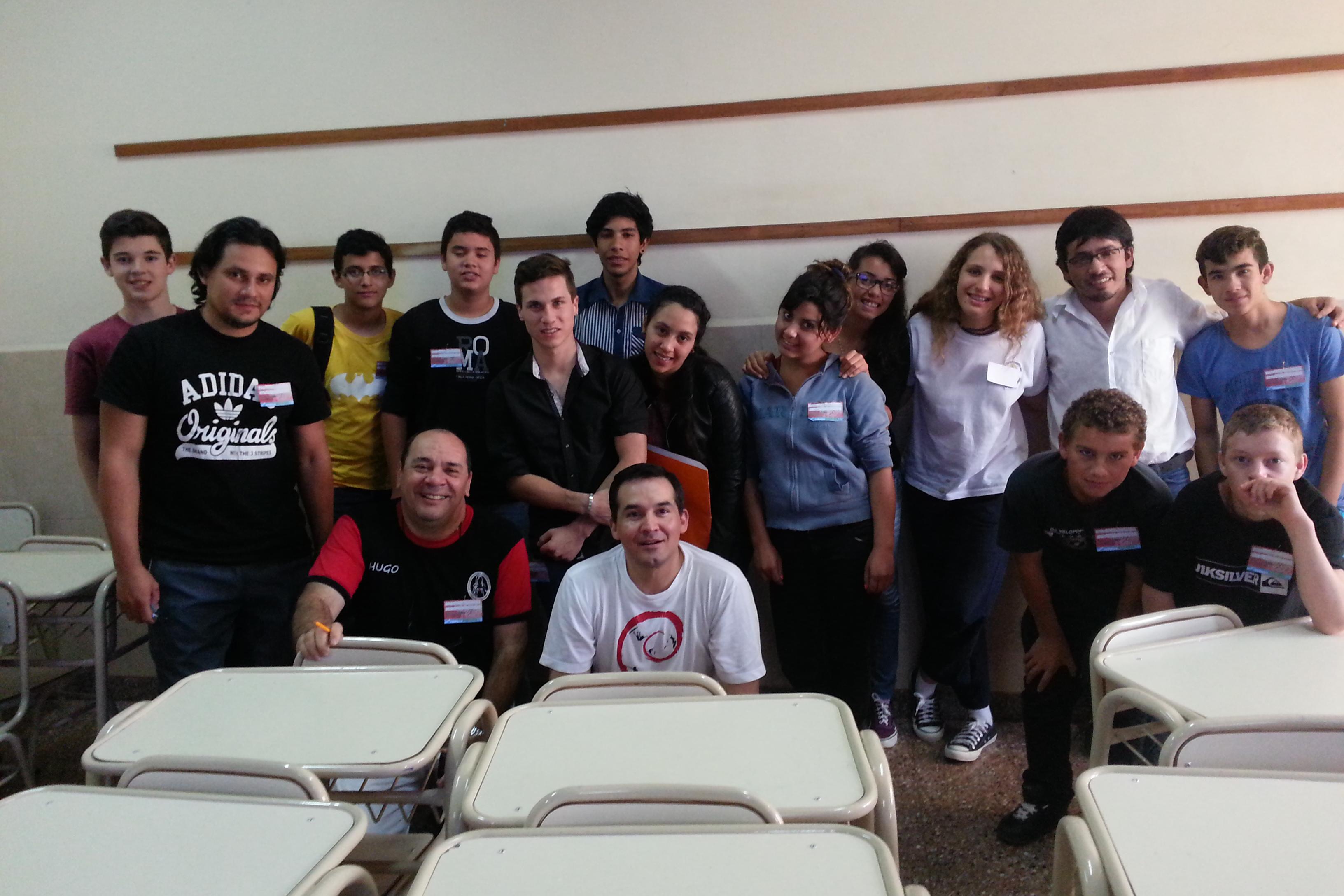 Grupo de participantes del taller